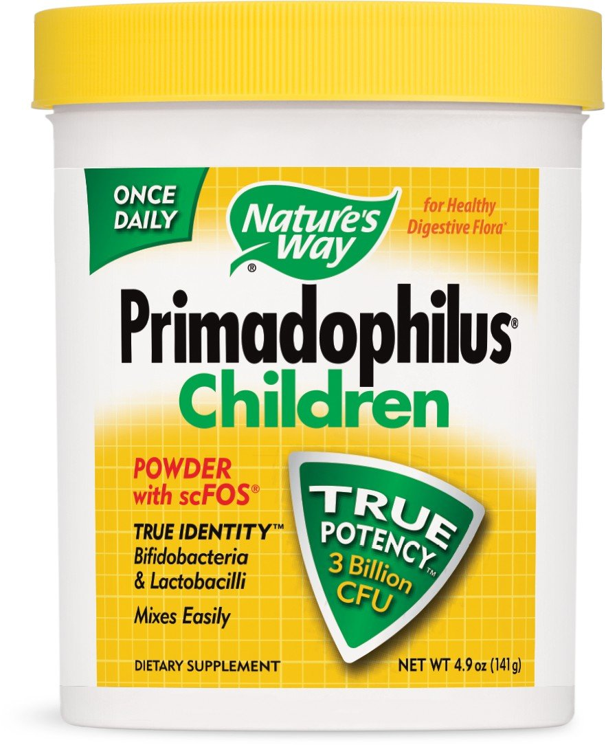 Nature's Way Primadophilus for Children, 5 Ounce , Pack of 4