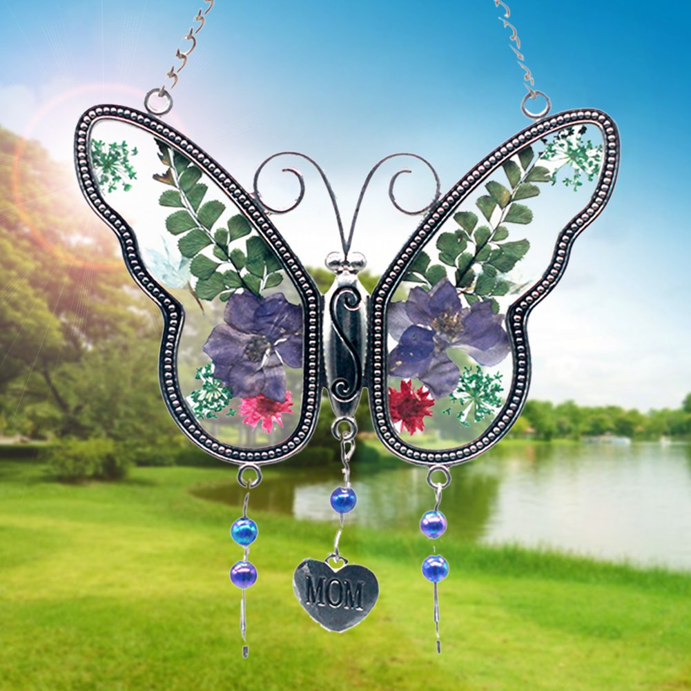 ZBLX Suncatcher Gifts for Mom - Gifts for Mothers -butterfly suncatcher.