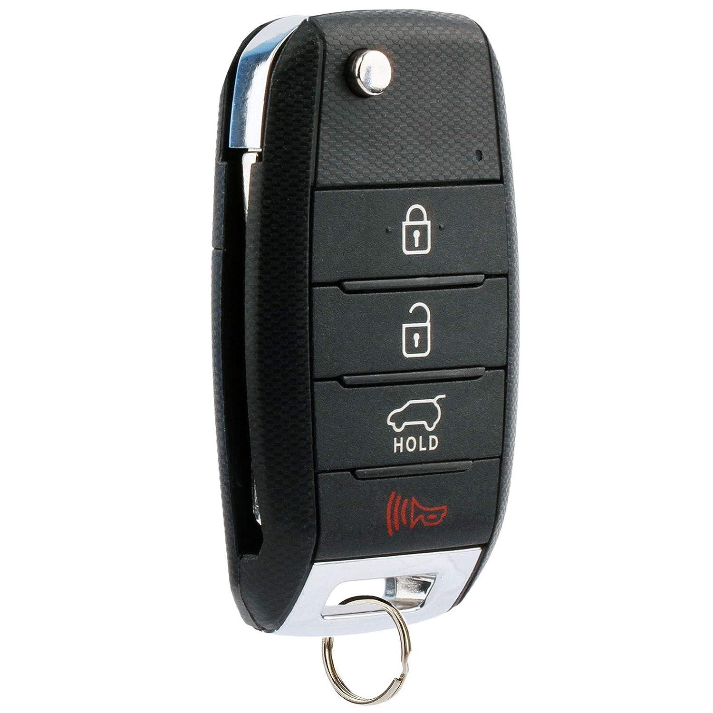 Flip Key fits 2014 2015 Kia Sorento Keyless Entry Remote Fob TQ8-RKE-3F05, 95430-1U500