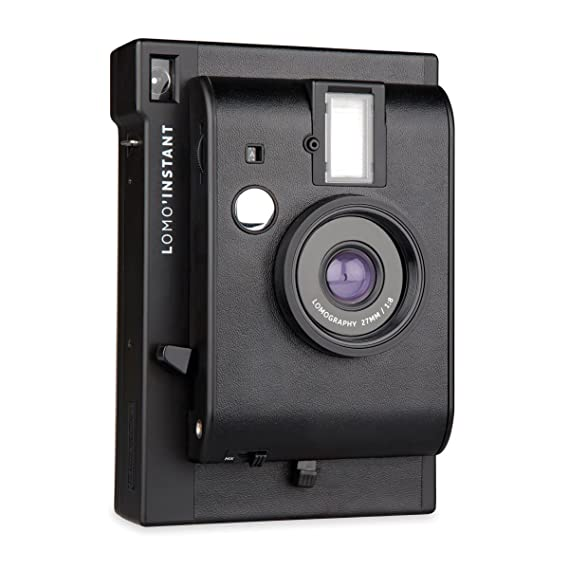 Lomography Lomo Instant Camera - Black Instant Cameras at amazon