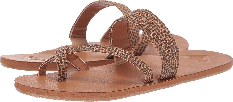 no sale tax cozy fresh timeless design Amazon.com | Roxy Women's Davina Multi-Strap Sandal Flat, tan, 5 M ...