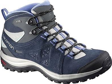 Salomon Damen Schuh Ellipse II Mid LTR GTX® blau 7: Amazon