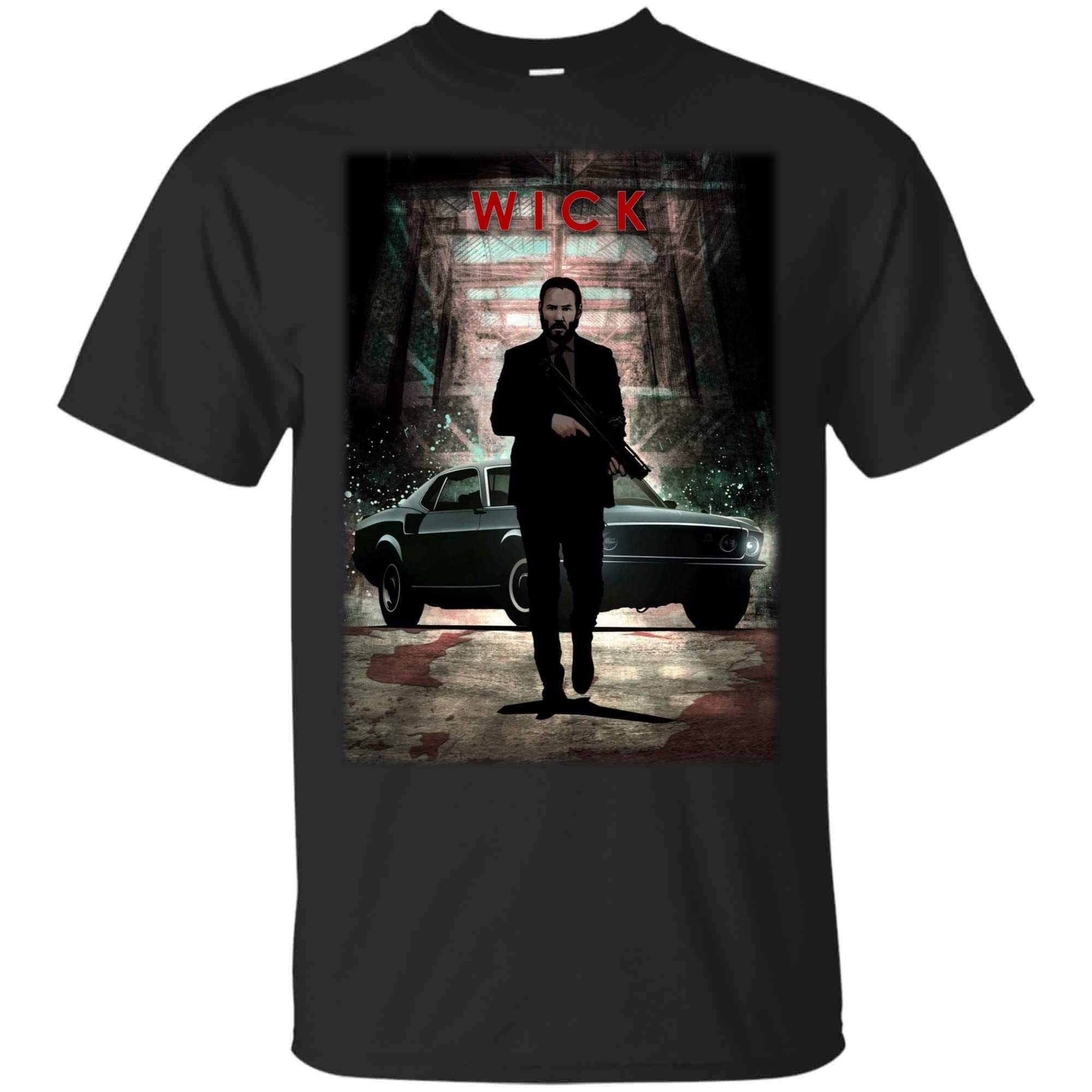 John Wick Shirt Baba Yaga Shirt Wick And His Horse T Shirt For