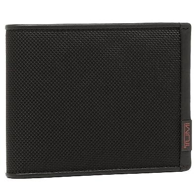 742ca95a1d41 Amazon | [トゥミ] 二つ折り財布 TUMI 119237 DID ブラック [並行輸入品 ...