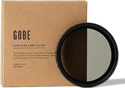 Gobe NDX 49mm Variable ND Lens Filter (1Peak)