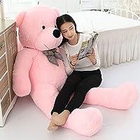 Frantic Premium Quality Huggable Stuffed Teddy Bear in Baby Pink Color – 3 Feet