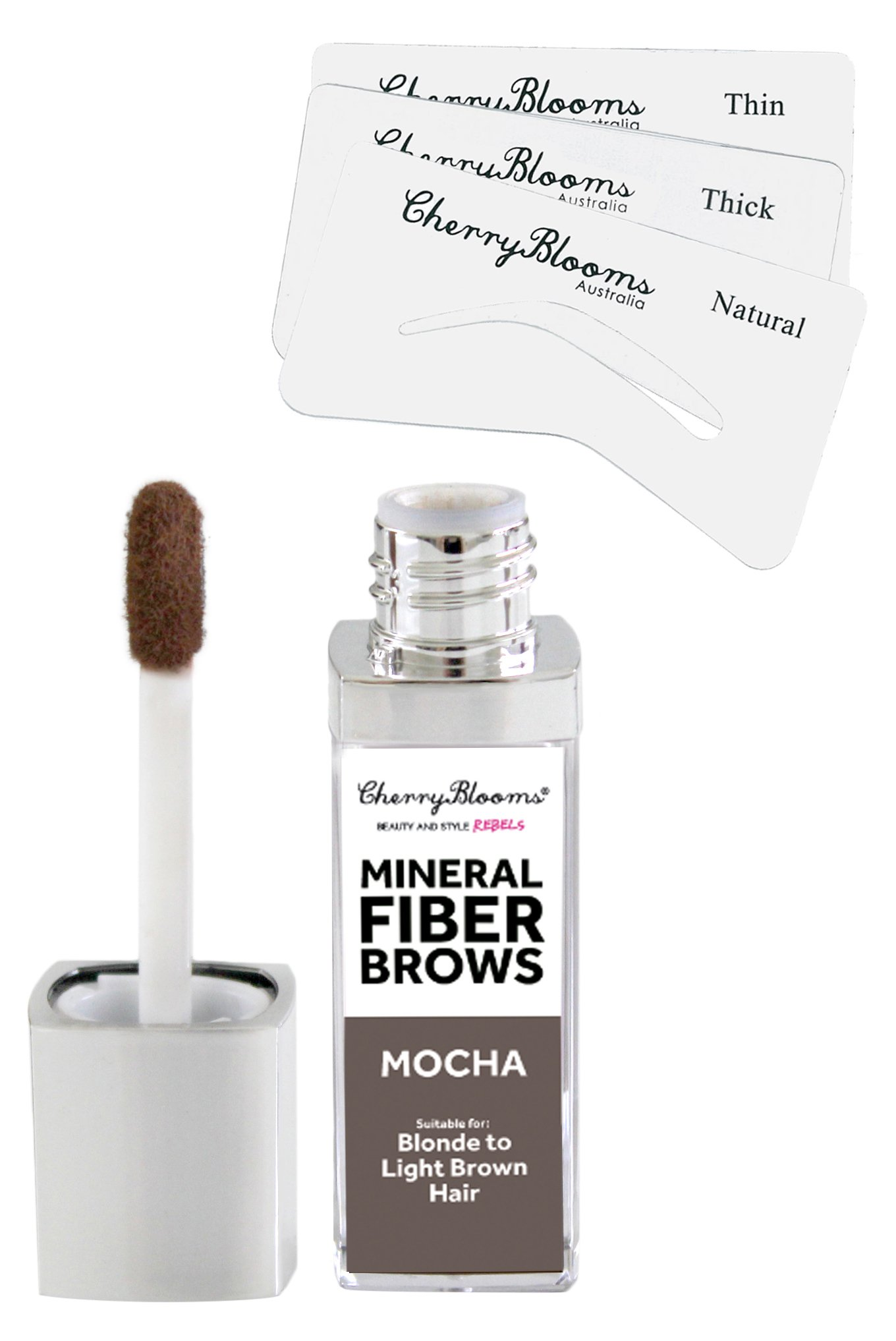 Amazon Cherry Blooms Mineral Fiber Brow Kit With Stencils