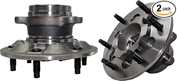 2009-2012 GMC Canyon Wheel Hub w//6 Lugs MotorbyMotor 515121 Front Wheel Bearing and Hub Assembly Replacement for 2009-2012 Chevy Colorado 4WD w//ABS, 4x4