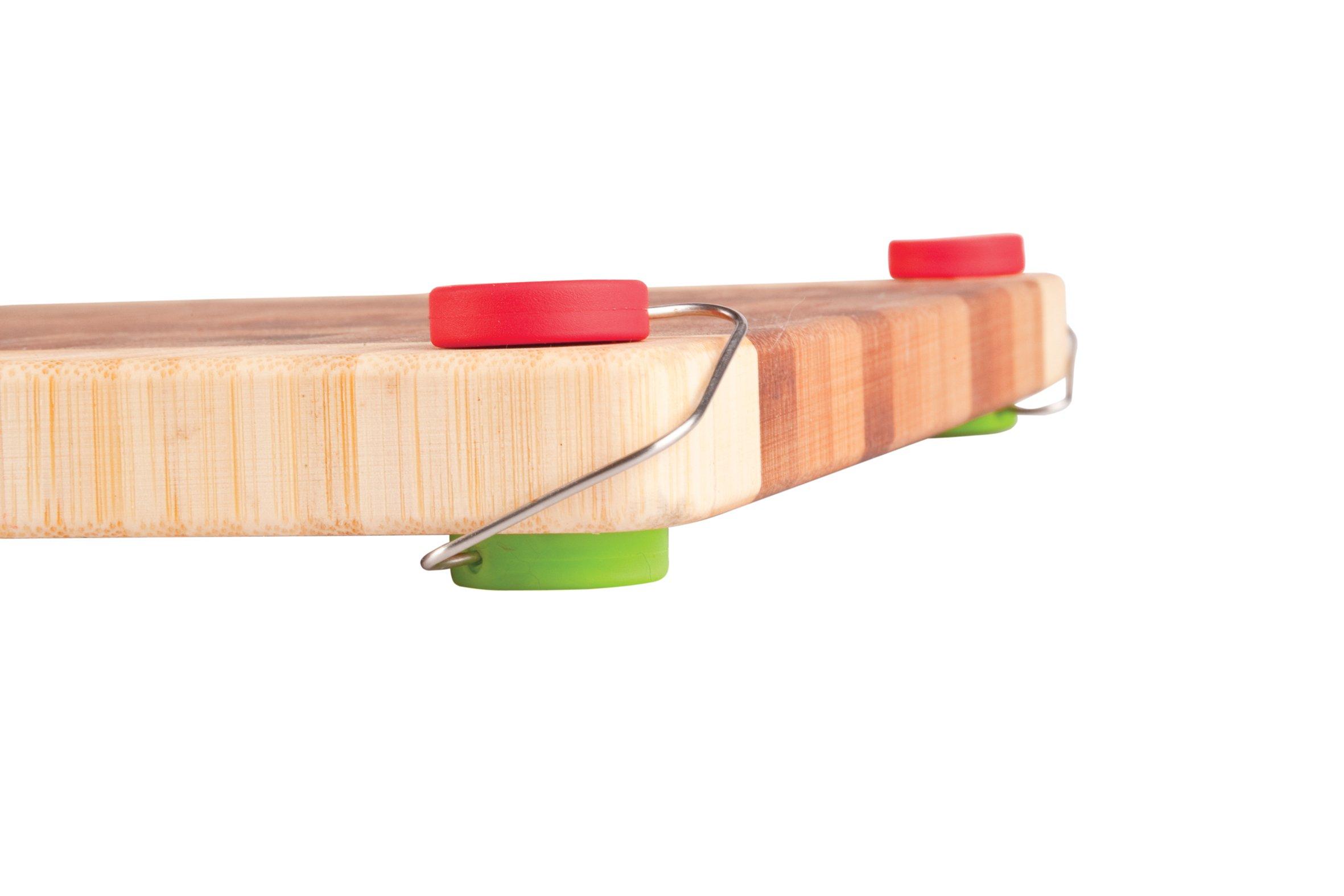 Dreamfarm Chobs - Non-Slip Silicone Cutting Board Feet, Set of 4 (Assorted Colors)
