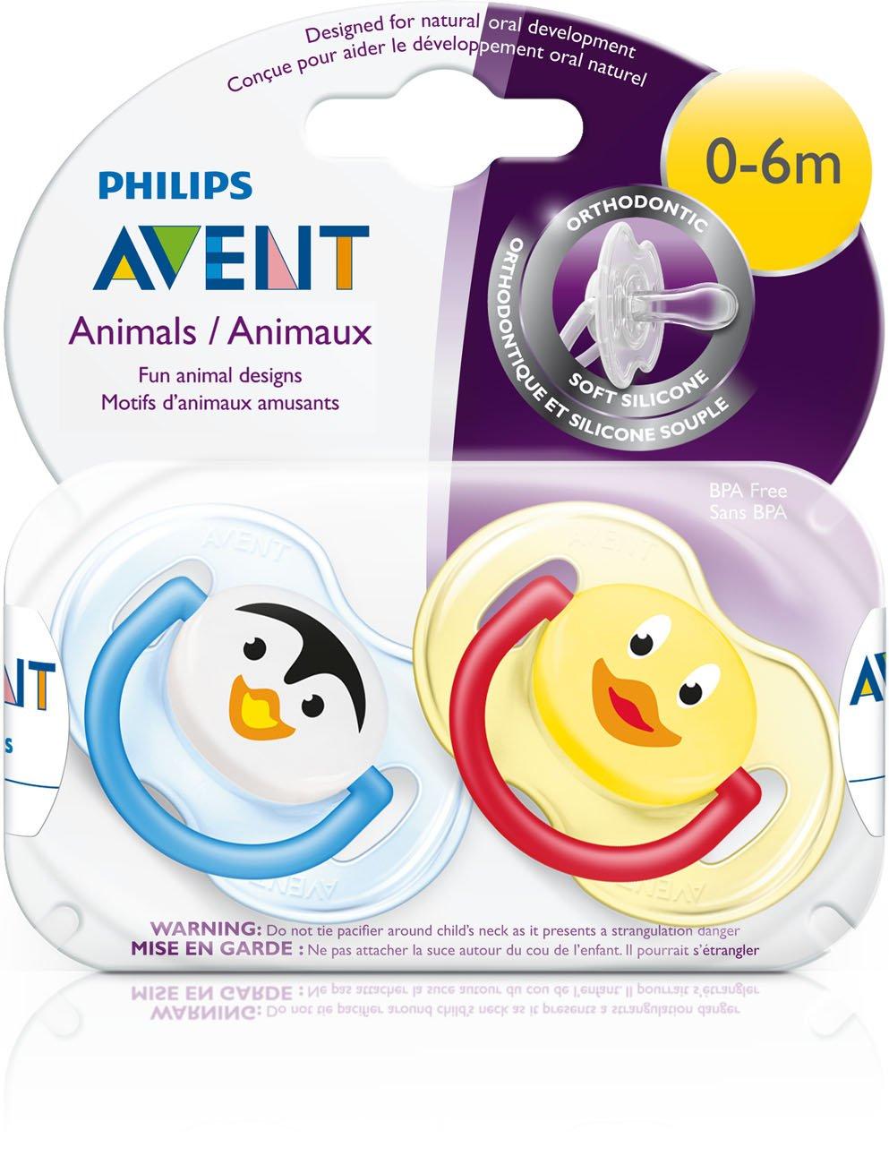 Amazon.com: Chupete sin BPA Philips AVENT (2unidades ...
