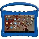 "Kids BTC Flame+ UK 7"" Quad Core Tablet PC (1GB RAM, 8GB HDD, IPS display, Google Android 4.4, WIFI, USB, Bluetooth) - Blue"