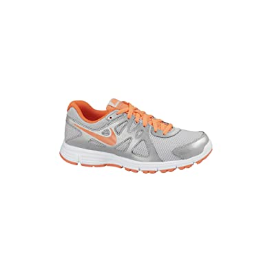 aaeb7c3ac9 Amazon.com   Nike Girl's Revolution 2 Athletic Shoes Grey   Athletic