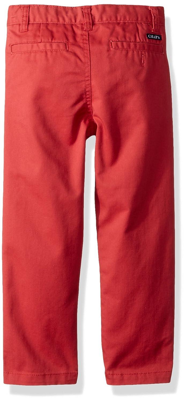 Chaps Boys Flat Front Twill Chino Pants