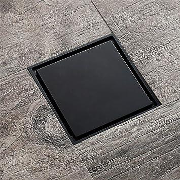 Drenaje de piso Cobre Negro Drenaje de piso Azulejo cuadrado ...