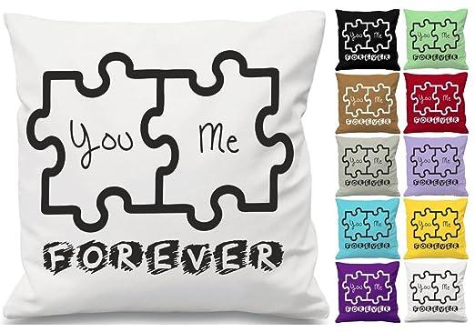 You Me Forever Quote cojín manta funda de almohada impreso ...