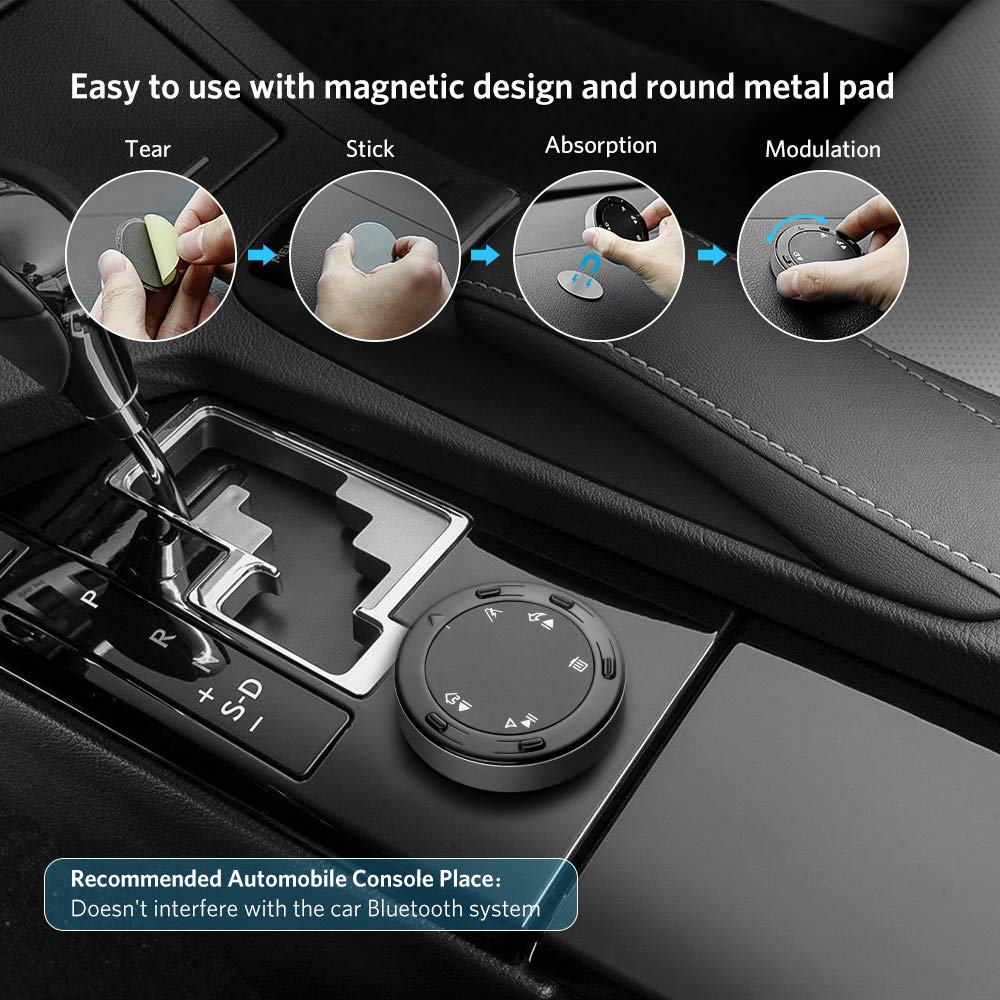 Music Bluetooth Car Kit Etc HandsFree Call GPS Navigation Tsumbay Ai01 TouchAi Smart Touch Control for Android /& Google AI Voice Assistant Bluetooth Button Media Remote Control