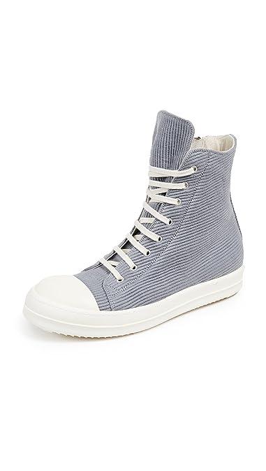 amazon com rick owens drkshdw men s classic bumper sneakers