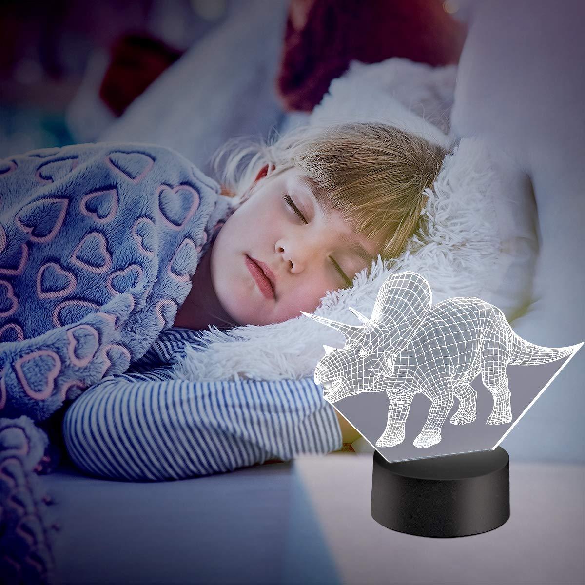 Amazon.com: MOBIUS Toys Luz nocturna para niños, 7 ...