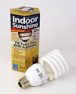 Amazon.com: Indoor Sunshine: Single 15-watt Spiral Bulb by ...:Indoor Sunshine: Trio Pack of 30-watt Bulbs,Lighting