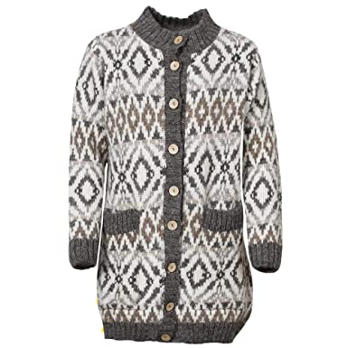 97dac0d4b496 ICEWEAR Pordis Icelandic Wool Cardigan For women