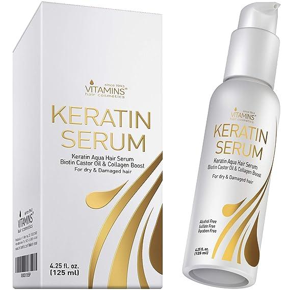 Vitamins Keratin Serum