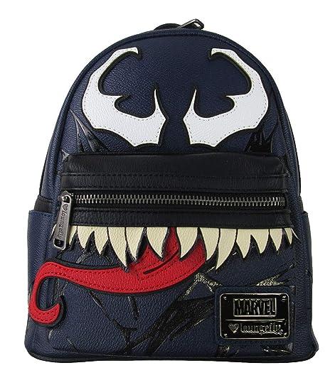 a99a40d9e65b43 Loungefly Marvel Comics Spider-Man Venom Mini Backpack PU Leather Purse  Knapsack