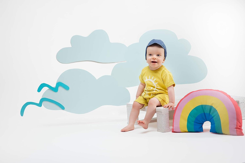 Mono Mameluco Romper Beb/é Baby Ni/ños Ni/ñas Unisex 100/% Algod/ón Azul Amarillo Verano 62-86 cm Pinokio Sun /& Fun