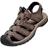 ATIKA Men's Outdoor Hiking Sandals, Closed Toe Athletic Sport Sandals, Lightweight Trail Walking Sandals, Summer Water…