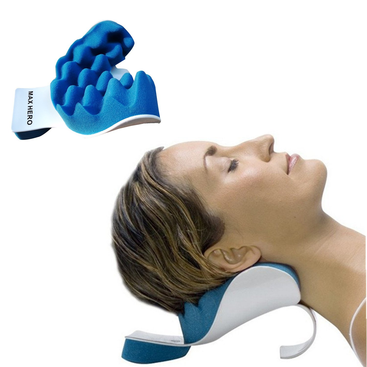 Amazon Com Cervical Neck Traction Device Effective And
