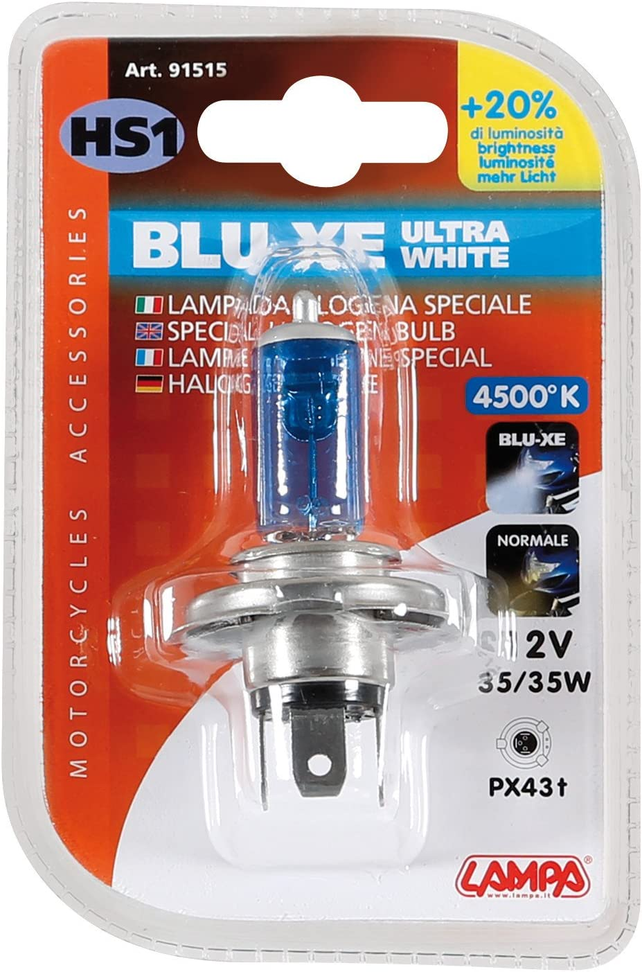 Lampa 91515 Blu-Xe Lampada