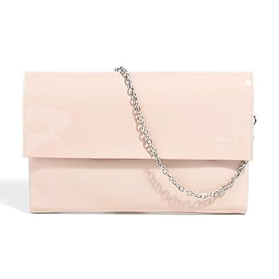 36d4ddfdc4b88 Parfois - Festliche Taschen Umschlag Lack Nude - Damen - Größe M - Nude
