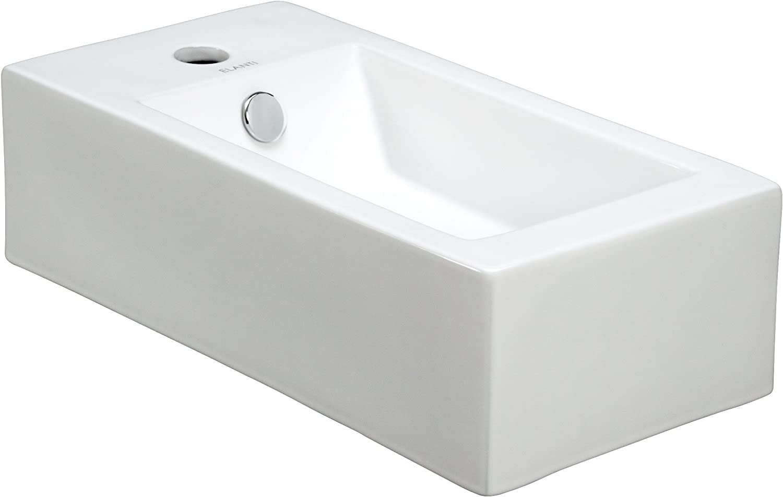 Elanti Collection EC9899-R Sink, White