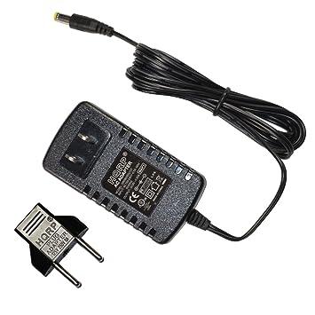 HQRP Adaptador de CA para Casio CT310, CT320, CT350, CT370, CT390, CT395, CT400, CT420, CT430 Teclado más Adaptador de enchufe europeo: Amazon.es: ...