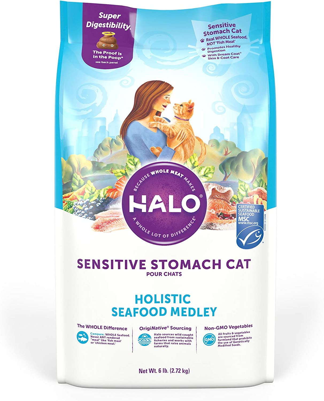 comida de ingredientes limitados para gatos