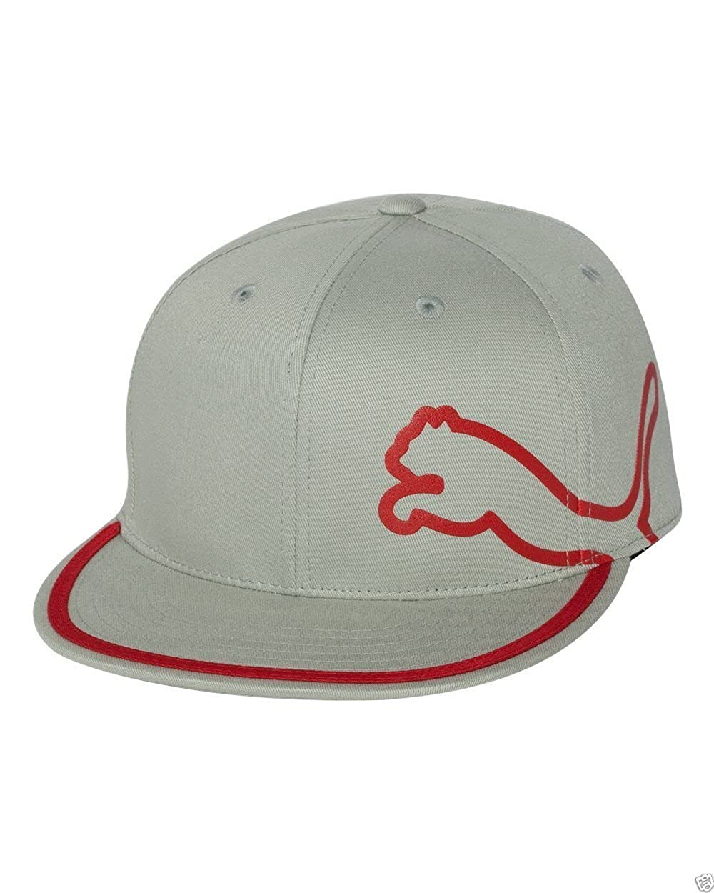 1e16f13228e cheap puma monoline 210 performance fitted golf hat 13f08 7df26  reduced  amazon puma monoline 210 fitted cap gray red clothing 8696e 7088c