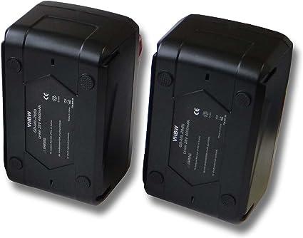 vhbw Set 2x baterías Li-Ion 4000mAh (28V) para herramientas Würth 28V y 4932352732.