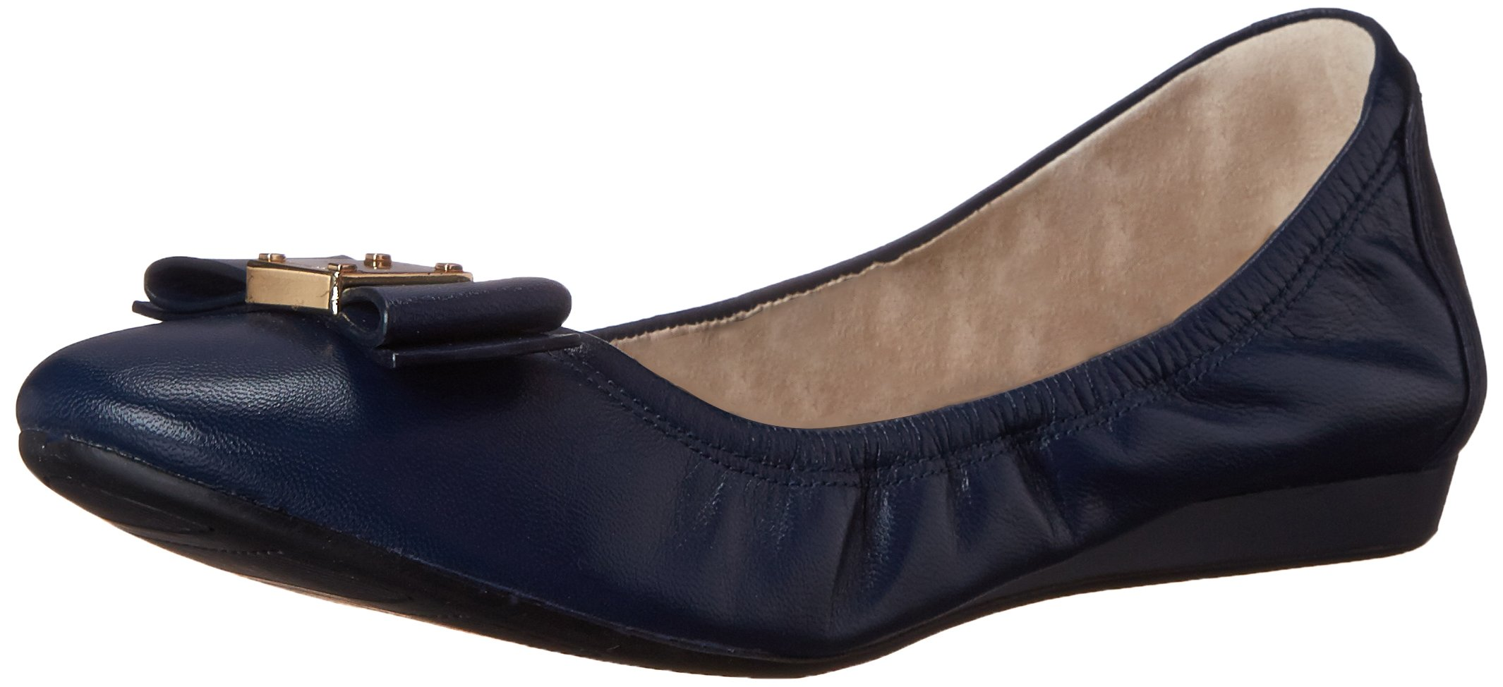 Cole Haan Women's Tali Bow Ballet Flat, Blazer Blue, 8 B US by Cole Haan (Image #1)