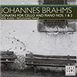Brahms: Sonatas for Cello & Piano Nos. 1 & 2