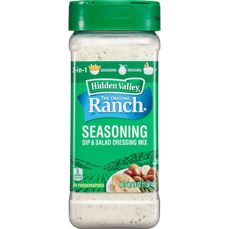 A Product of Hidden Valley Original Ranch Salad Dressing and Seasoning Mix (16 o