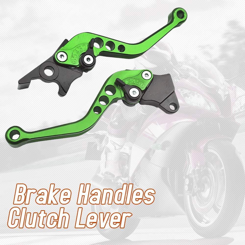 KKmoon 2pcs Alliage Moto//Scooter//Frein /Électrique V/élo Poign/ées Levier Dembrayage pour GY6 125 150 GP110 XMAX400