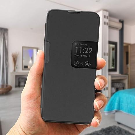 Wiko Folio Smart View 5 5 Plus Grey Grau Elektronik