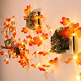 5 Pack Maple Leaves Garland String