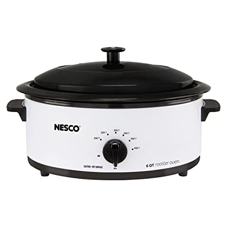 Amazon.com: Nesco 481825PR Horno asador de acero inoxidable ...