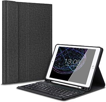 Wasan Funda de Teclado Bluetooth para iPad 2018 9,7