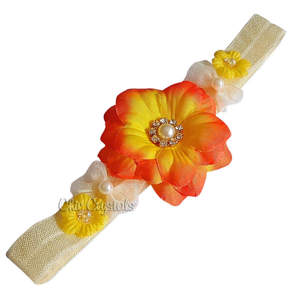 Amazon Vintage Flower Headband For Baby Girls 0 3months