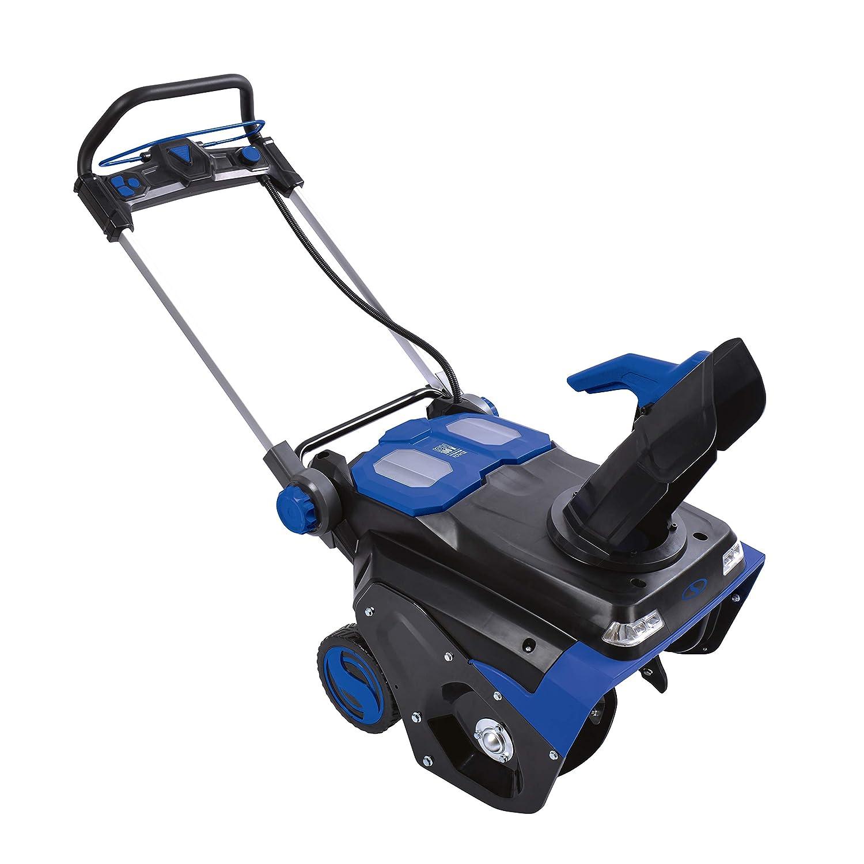 Snow Joe ION100V-21SB 21-Inch 100-Volt Max 5Ah Brushless Lithium-iON Cordless Snow Blower Blue