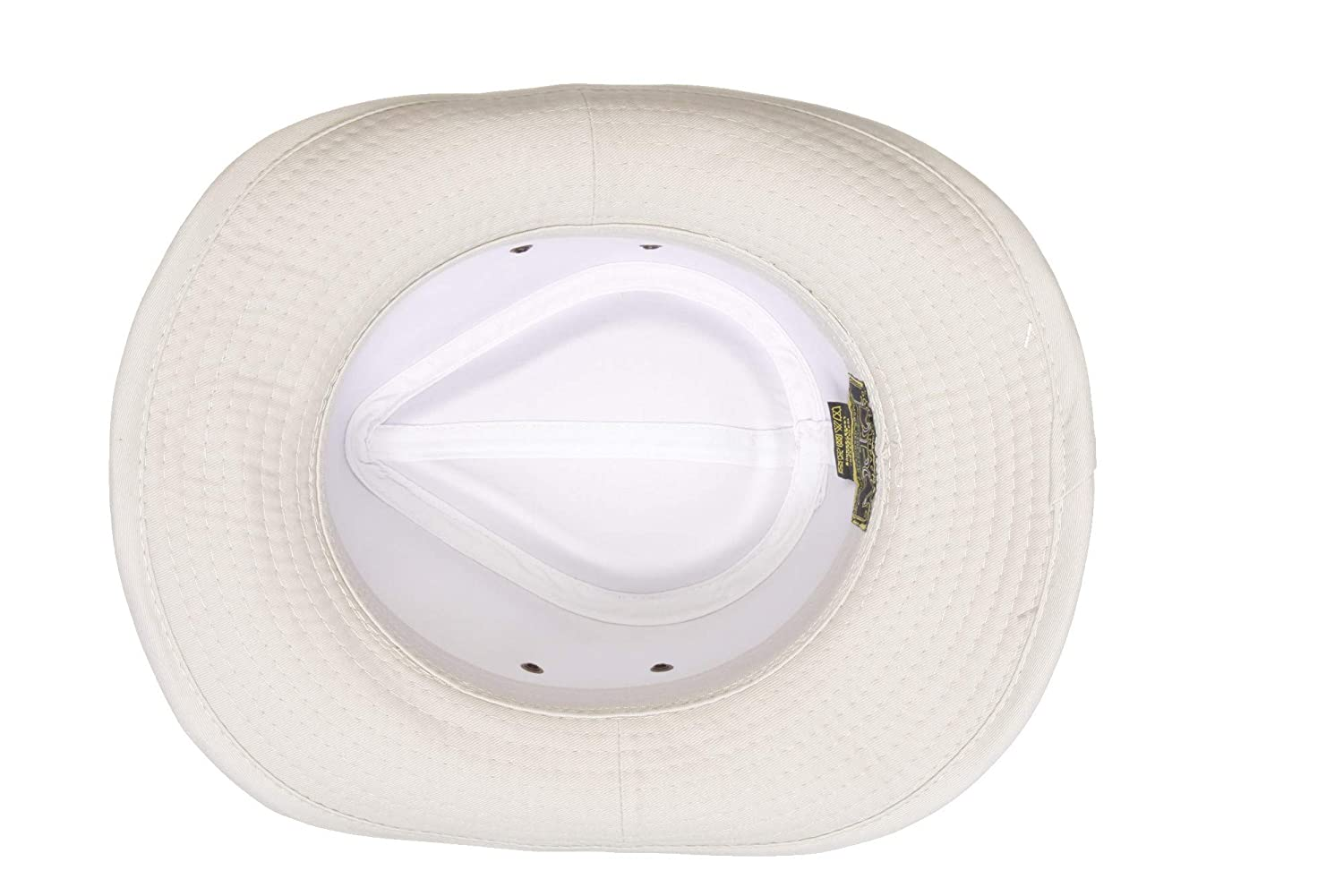 Dorfman Pacific Unisex Twill Leather Band Shapeable Outback Hat