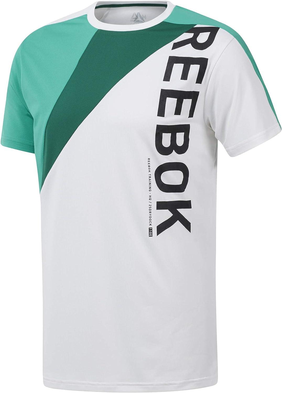 Reebok Ost Blocked tee Camiseta Hombre