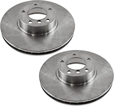 For BMW 540i 1996 1997 1998 1999 2000 E39 Front Brake Rotors And Ceramic Pads