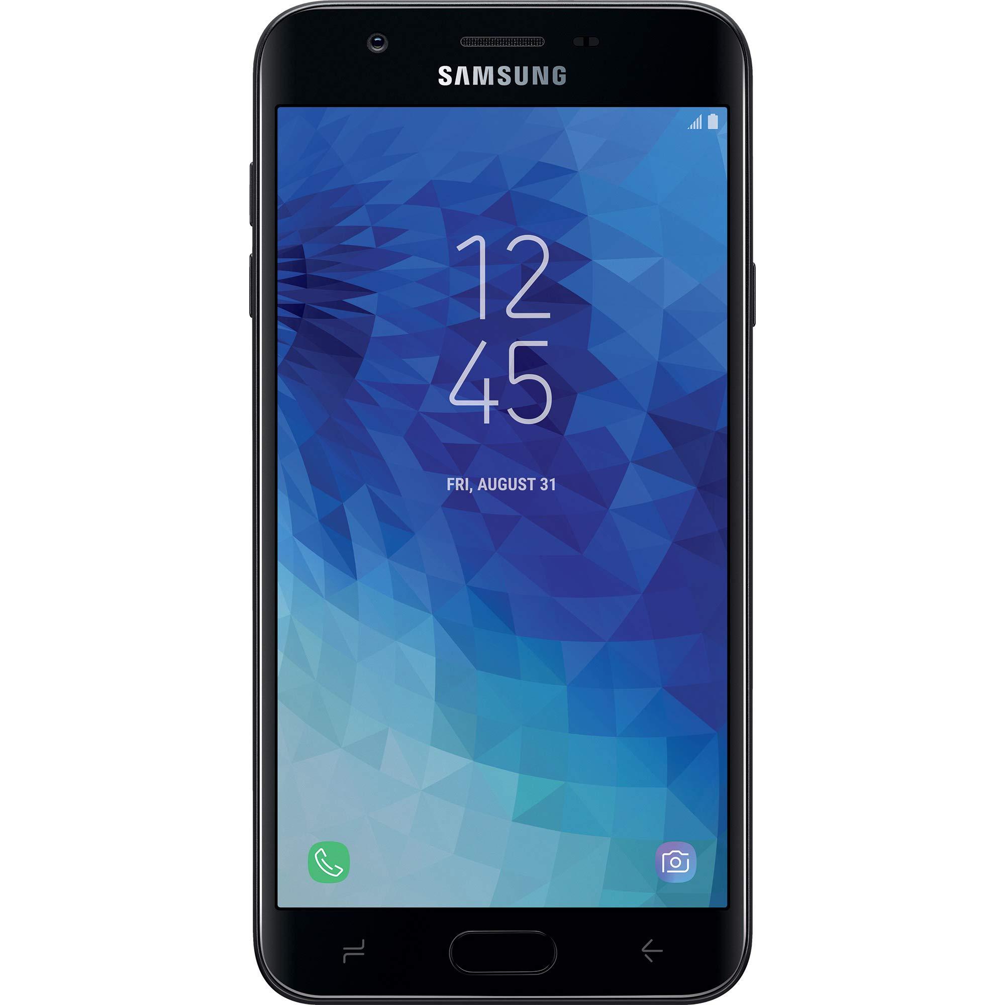 Net10 Samsung Galaxy J7 Crown 4G LTE Prepaid Smartphone (Locked) - Black - 16GB - Sim Card Included - CDMA